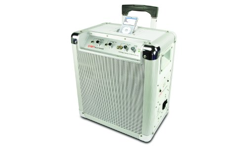 Ion Block Rocker Battery Powered Speaker System For Ipod