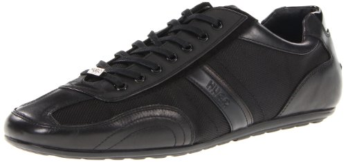HUGO BOSS-Scarpe da ginnastica da uomo, colore: nero, Thatoz BOSS Red Label, Black, 6 UK / 40 EU / 7 US