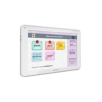 Tablette senior Facilotab 10,1 pouces WiFi - Blanche