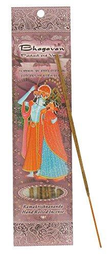 Bhagavan - Patchouli & Vetiver - Ramakrishnananda Hand-Rolled Stick Incense (Vetiver Incense Resin compare prices)