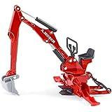 Siku 2066 - Moser Heckbagger für Traktoren, Spielmodell
