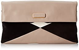 Marc by Marc Jacobs Hvac Clutch, Taupe Grey Multi, One Size