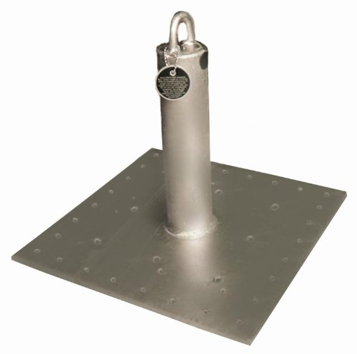 Guardian Fall Protection 00656 CB-18 CB Galvanized Roof Anchor, 18-Inch Tall