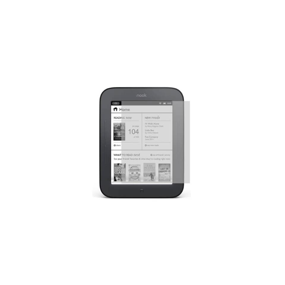 Fosmon Anti Glare Matte Finish Screen Protector Shield for  Nook Simple Touch Reader / Nook 2