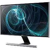 Samsung T24D590EW 59,9 cm (24 Zoll) TFT-Monitor (VGA, HDMI, USB, 5ms Reaktionszeit, TV-Tuner) schwarz-glänzend