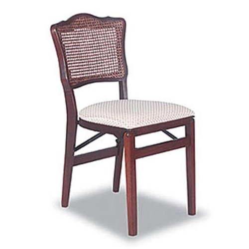 Cheap French Cane Folding Chairs Set of Two