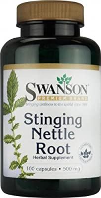 Stinging Nettle ROOT - 500mg - 100 CAPSULES - (Urtica dioica) - High Strength - 1st CLASS P&P by SWANSON