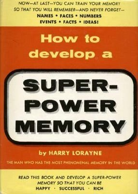 How to Develop a Super Power Memory (How To Develop Products compare prices)