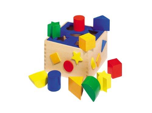 "Wooden Sort Box 7"" by Goki - 1"