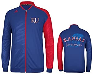 Adidas Kansas Jayhawks Adult On Court Warm Up Jacket by adidas