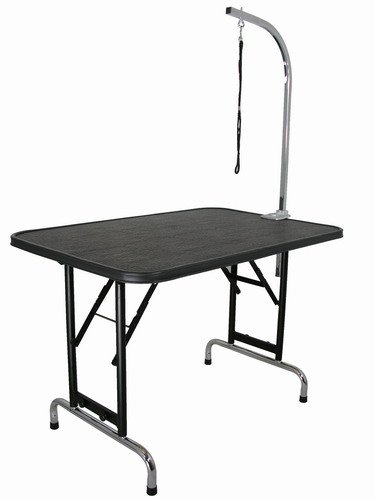 42-Inch by 24-Inch Grooming Table w/ Folding Legs