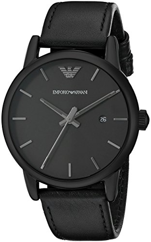 Emporio Armani Men's AR1732 Classic Analog Display Analog Quartz Black Watch