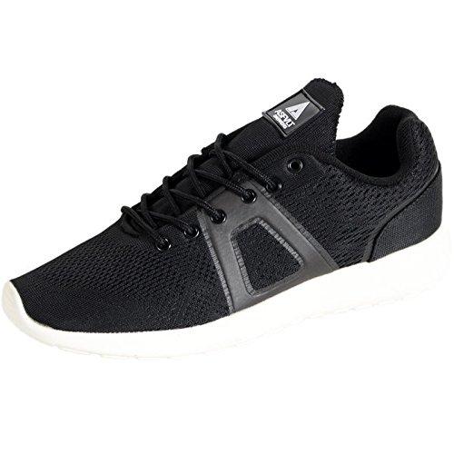 Corsa Asfvlt scarpe, Super Knit, Nero (nero), 42