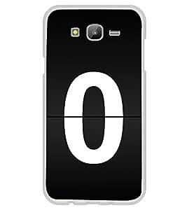 No 0 2D Hard Polycarbonate Designer Back Case Cover for Samsung Galaxy J7 J700F (2015 OLD MODEL) :: Samsung Galaxy J7 Duos :: Samsung Galaxy J7 J700M J700H