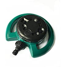 Generic Green And Black : 8 Pattern Dial Home Garden Sprinkler Multi Functional Fitting Irrigation Watering Can...