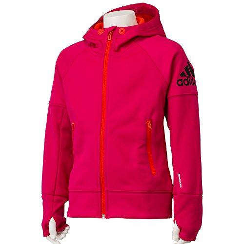 (アディダス)adidas GIRLS CLIMAWARM ジャケット APK19 AB9512 ボールドピンク J150