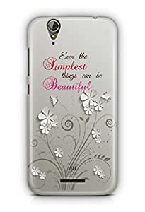 YuBingo Simplest Things can be Beautiful Mobile Case Back Cover for Acer Liquid Jade 630