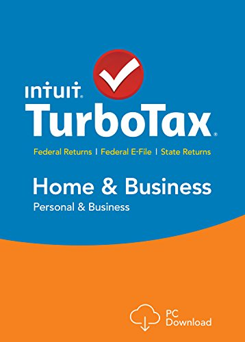 TurboTax Home & Business 2015 Federal + State Taxes + Fed Efile Tax Preparation Software – PC Download