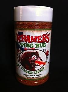 Kramer's Wing Rub (Finger' Lickin')