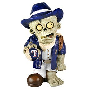 MLB Texas Rangers Resin Thematic Zombie Figurine, Red