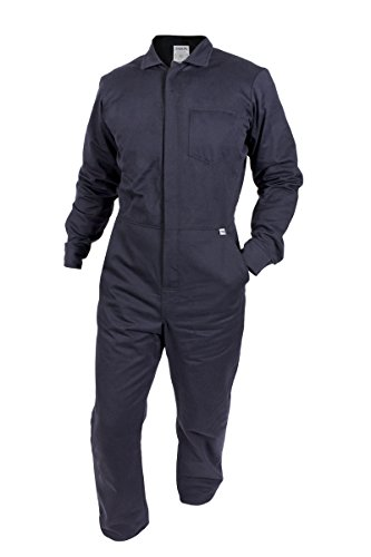 National Safety Apparel C88EJCZXL32 ArcGuard FR UltraSoft Contractor Coverall, X-Large, Navy