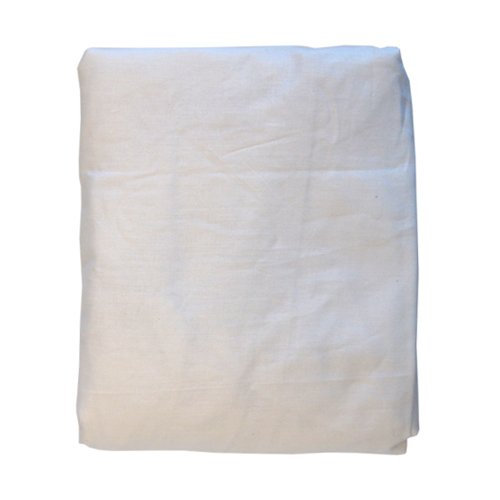 Kidiway Crib Fitted Sheet, Bright White - 1