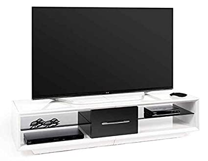 59 in. Wide TV Stand in White