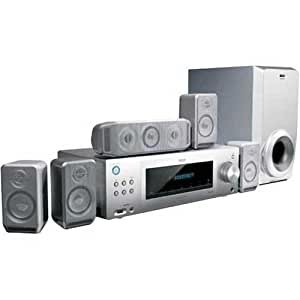 RCA RT2760 720 Watts 5.1 Channel Home Theatre System with Digital AM/FM Tuner (Discontinued by Manufacturer)