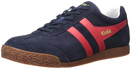 Gola Men's Harrier Fashion Sneaker, Navy/Red/White, 8 UK/9 M US
