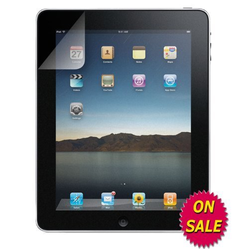 Anti-Glare LCD Screen Guard for Apple iPad