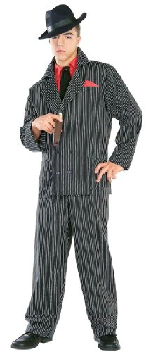 Gangster Man Zoot Suit Adult Costume - Adult Std.