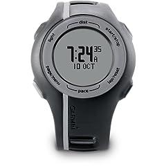Garmin Forerunner 110 GPS-Enabled Unisex Sport Watch (Black) by Garmin