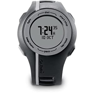 Garmin Forerunner 110 GPS-Enabled Unisex Sport Watch (Black)
