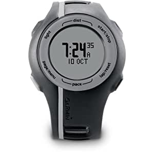 Garmin Forerunner 110 GPS-Enabled Unisex Sport Watch (Black) (Discontinued by Manufacturer)