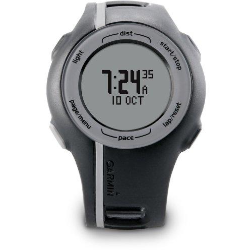 Garmin Forerunner 110 GPS-Enabled Unisex Sport Watch (Black) Running Gps
