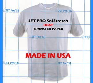 Jet-Pro Iron On Inkjet Heat Transfer Paper 8.5X11 - 25 Sheets - Neenah front-1081115