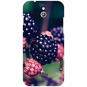 Infocus M2 Back Cover - Silicon Strawberries Designer Cases