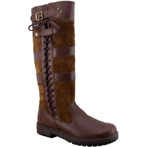 Adults Kanyon Leather Yard Stable Country Boots Regular/Wide Size UK 3-10