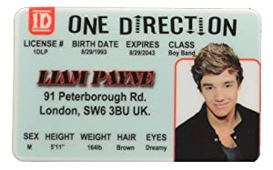 Liam Payne Id - One Direction Band by IncredibleGifts