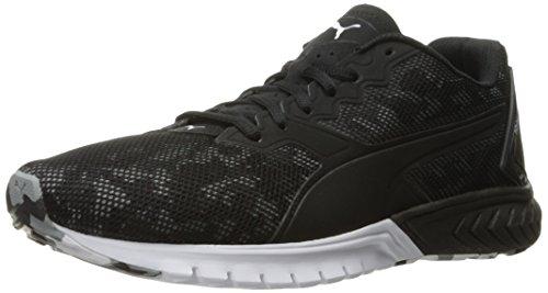 PUMA Men's Ignite Dual Camo Running Shoe, Puma Black, 7.5 M US