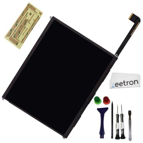 Ipad 3 Replacement Lcd Screen Display Diy Kit + 7P Opening Tool Kit + Microfiber Cloth (9P Kit) Zeetron