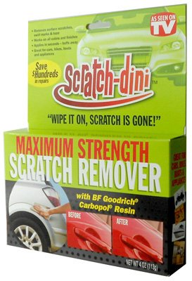 Scratch-Dini Remover 4 oz (Tv Scratch Remover compare prices)