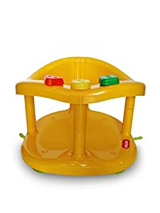 buy baby bath tub ring seat new in box by keter yellow online at low prices. Black Bedroom Furniture Sets. Home Design Ideas