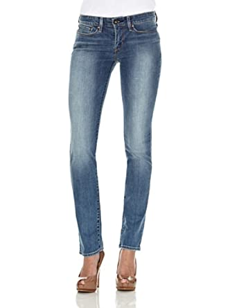 Jeans Levi's Early Dawn Demi Curve Straight Leg pour femme (bleu) 25L
