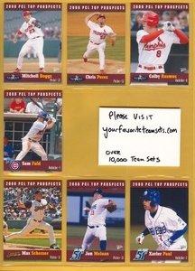 2008 PCL Top Prospects Marlins Team Set 2 Cards Eulogio Frankie De La Cruz MINT by Multi-Ad