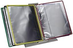 Tarifold, Inc. D291F Foldfive Desk Unit with Ten Foldout Sleeve Display Pockets, 100 Sheet Capacity