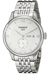 Tissot Men's T0064281103801 Le Locle Analog Display Swiss Automatic Silver Watch