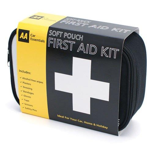 AA Car Essentials First Aid Kit - Soft Pouch