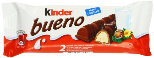 Kinder Bueno Chocolate Bars 44 g (Pack of 30)
