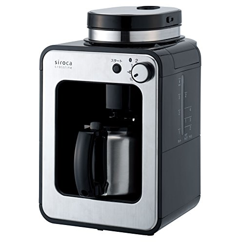 siroca crossline 全自動コーヒーメーカー STC-501特別セット 【交換用メッシュフィルター付】 STC-501TMF